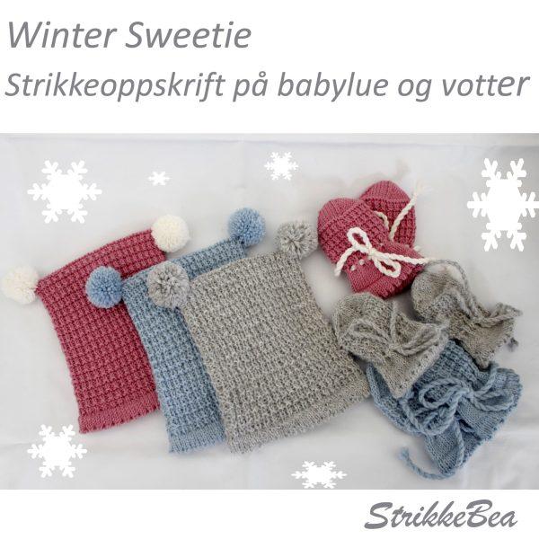wintersweetie babystrikk