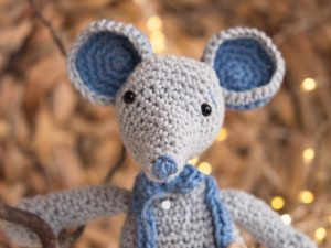 hekleoppskrift mus