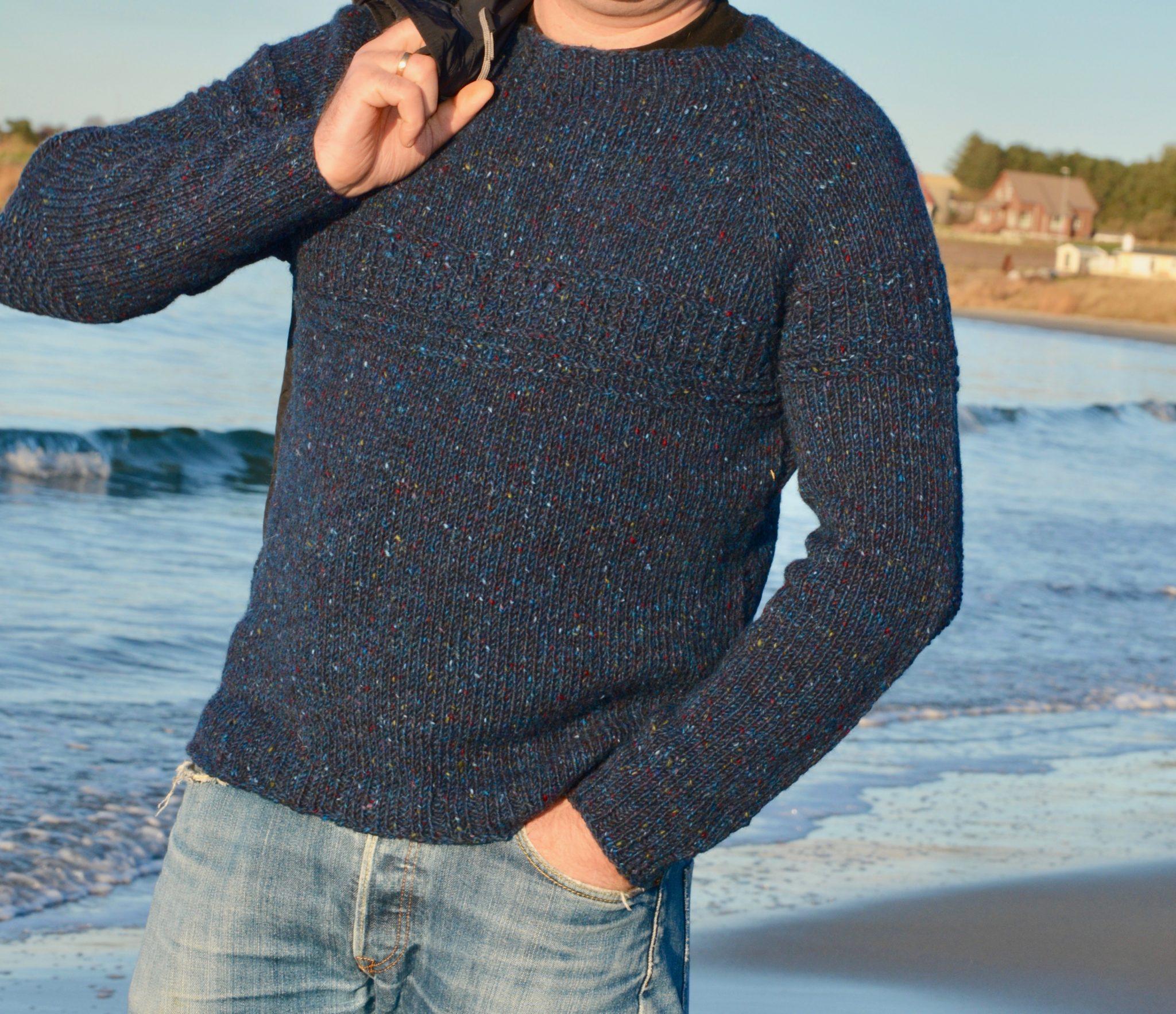 904dd095 Journey. Casual Man sweater /genser Herre (oppskrift er på engelsk ...