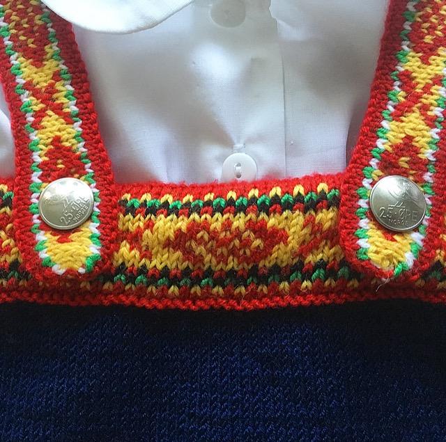 kjole barn mønster vestfold