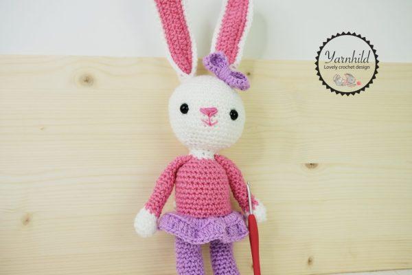 Hekleoppskrift kanin