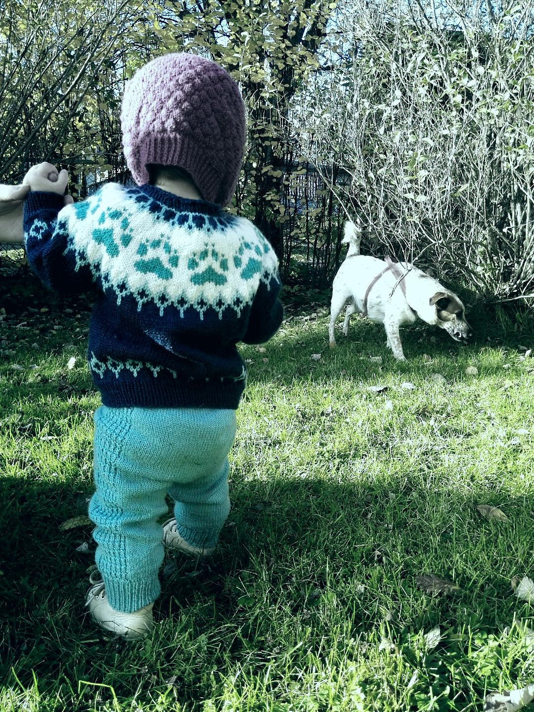 villmarksbarn genser