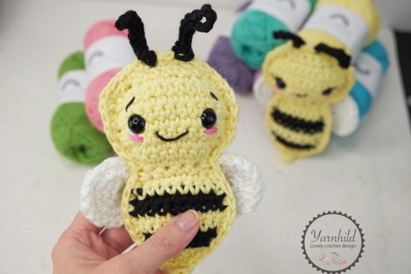 Hekleoppskrift på bie