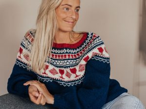 Strikk og drikk genseren