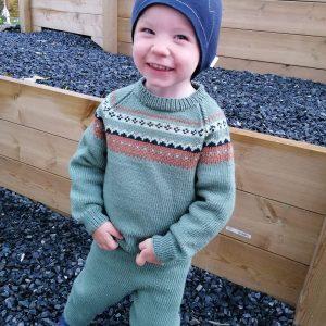 Casper genser | Strikkoteket